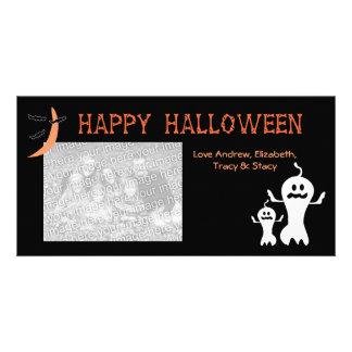 Tarjetas de la foto del feliz Halloween Tarjetas Fotograficas
