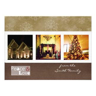 tarjetas de la foto del instagram del navidad del  comunicados personales