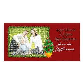 Tarjetas de la foto del navidad tarjeta fotográfica