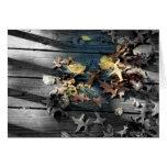 Tarjetas de la fotografía de color del otoño del f