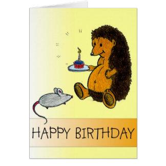 Tarjetas de la hierba - feliz cumpleaños (genérico