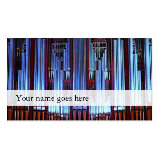 Tarjetas de la industria musical del órgano - tarjeta personal