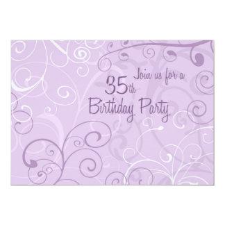 Tarjetas de la invitación de la fiesta de invitación 12,7 x 17,8 cm