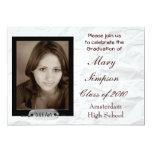 Tarjetas de la invitación de la graduación invitación 12,7 x 17,8 cm