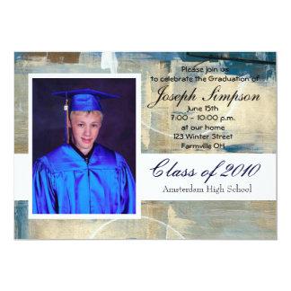 Tarjetas de la invitación de la graduación
