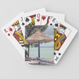 Tarjetas de la isla cartas de póquer