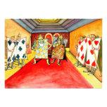 Tarjetas de la noche del póker de la invitación qu