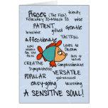 tarjetas de la palabra del zodiaco - Piscis