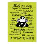tarjetas de la palabra del zodiaco - virgo