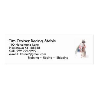 Tarjetas de la pequeña empresa para los instructor tarjetas de visita