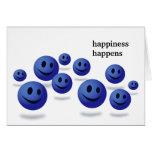 Tarjetas de la prisión - la felicidad sucede