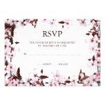 Tarjetas de la respuesta de RSVP de la frontera de Invitaciones Personalizada