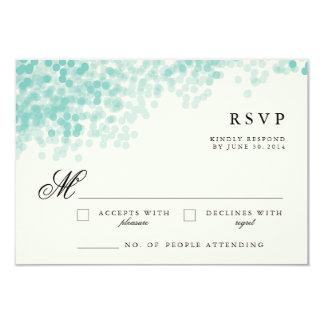 Tarjetas de la respuesta de RSVP del bonito de la Invitación 8,9 X 12,7 Cm