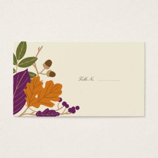 Tarjetas de la tabla de la huésped del boda de la
