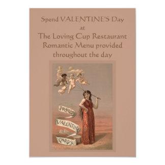 Tarjetas de la tarjeta del día de San Valentín de Invitación