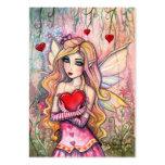 Tarjetas de la tarjeta del día de San Valentín de Tarjetas De Visita Grandes