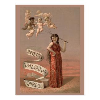 Tarjetas de la tarjeta del día de San Valentín de  Postal