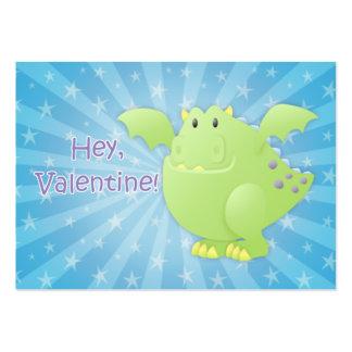 Tarjetas de la tarjeta del día de San Valentín del Tarjetas De Visita Grandes