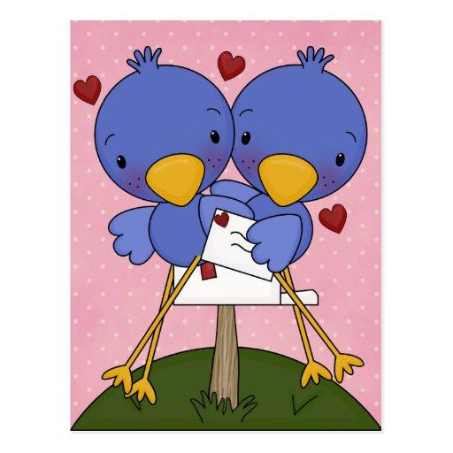 Tarjetas de la tarjeta del día de San Valentín Postal