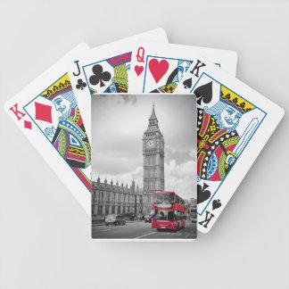 Tarjetas de Londres Inglaterra Baraja