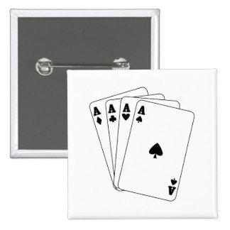 Tarjetas de los as pin