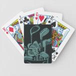 Tarjetas de los clubs de golf baraja cartas de poker