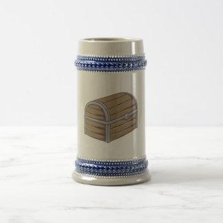 Tarjetas de madera antiguas de encargo del cofre jarra de cerveza