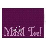 Tarjetas de Mazel Tov
