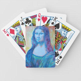 tarjetas de Mona Lisa Baraja