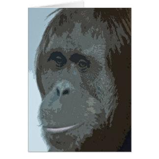 Tarjetas de MonkieLand del orangután