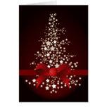 tarjetas de Navidad corporativas festivas rojas