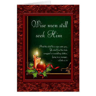 Tarjetas de Navidad cristianas elegantes