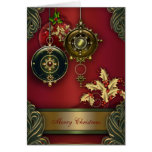 Tarjetas de Navidad cristianas rojas