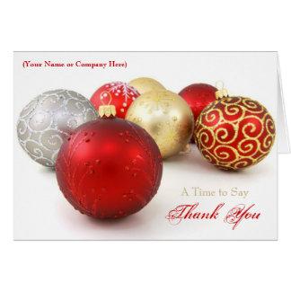 Tarjetas de Navidad de encargo del negocio del
