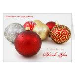 Tarjetas de Navidad de encargo del negocio del log