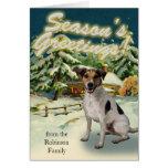 Tarjetas de Navidad de la cabina de la nieve de Ja