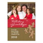 Tarjetas de Navidad de la foto del día de fiesta - Anuncio