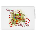 Tarjetas de Navidad de la rana arbórea