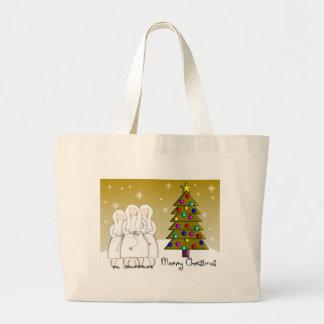 Tarjetas de Navidad de las monjas y diseño Regalo- Bolsa