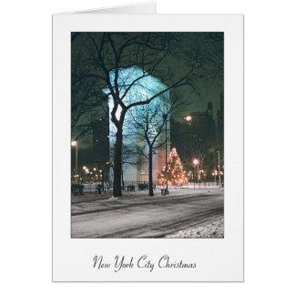 Tarjetas de Navidad de New York City