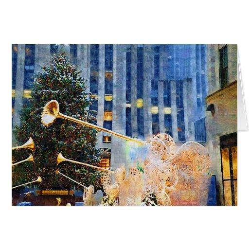 Tarjetas de Navidad de NY