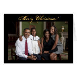 Tarjetas de Navidad de presidente Barack Obama