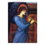 Tarjetas de Navidad del ángel - Burne-Jones -