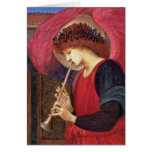 Tarjetas de Navidad del ángel - Burne-Jones - bell