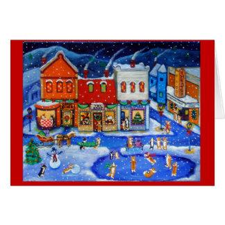 Tarjetas de Navidad del Corgi Galés del Pembroke