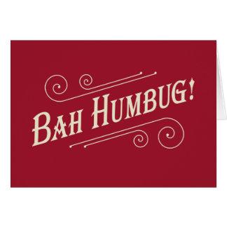 Tarjetas de Navidad del embaucamiento de Bah