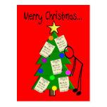 Tarjetas de Navidad del farmacéutico Tarjetas Postales