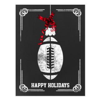 tarjetas de Navidad del futbolista de la pizarra Postales