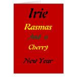 Tarjetas de Navidad del irie de Rasta