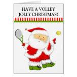 Tarjetas de Navidad del tenis